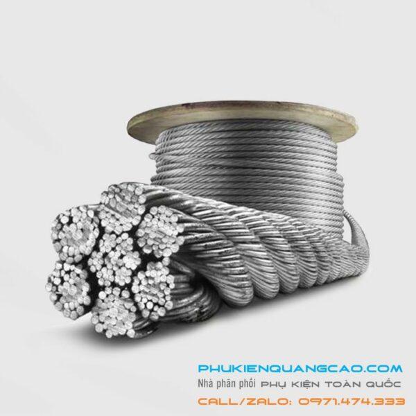 Cáp sợi Inox 201, 304, 316 Loại đường kính 1 - 20 mm